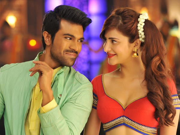 Ram Charan Donating Yevadu Premiere Show Collection To Venkateswara Temple