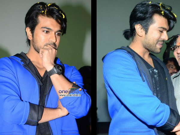 Ram Charan snazzy new Look