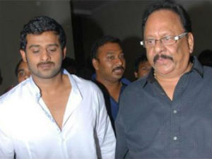 Krishnam Raju plans to direct nephew Prabhas