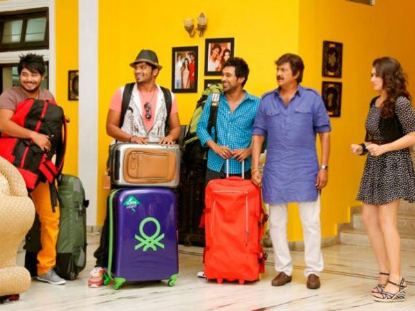 Mohan Babu as Tourist guide in PPT