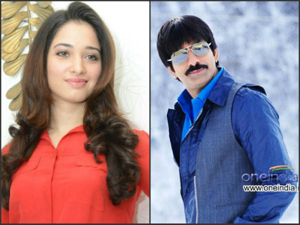 Tamanna and Raviteja pairs up first time