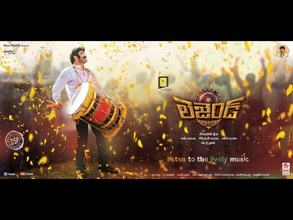 Legend going on Legend Simha Yatra