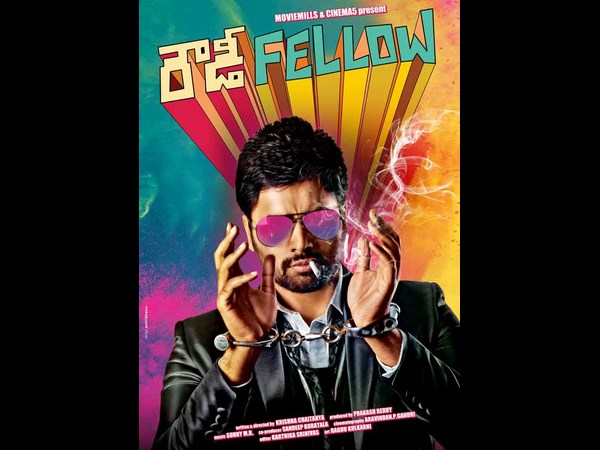 Nara Rohit Rowdy Fellow first look poster