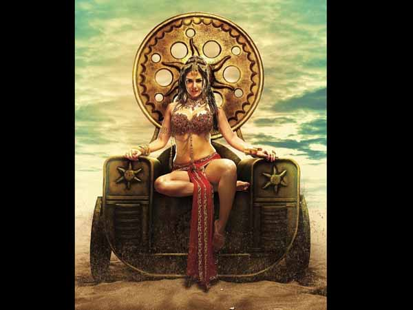Sunny Leone as royal princess in 'Leela'