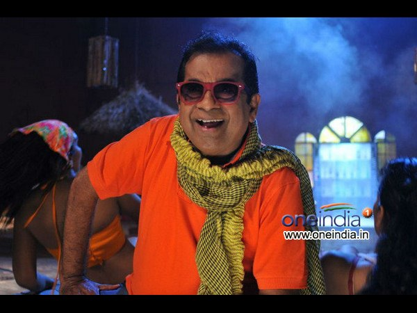 Brahmanandam Goes With Anjali