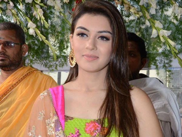 Hansika Not Interested