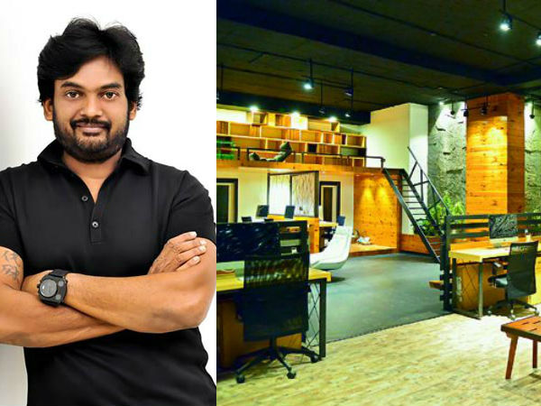 Puri Jagan's office is the richest office in Tollywood