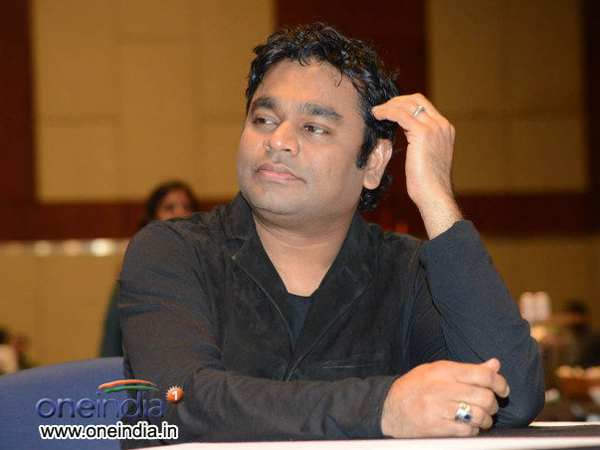AR Rahman's song with a message