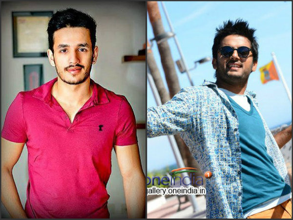 Nitin will co-produce Akhil's first movie