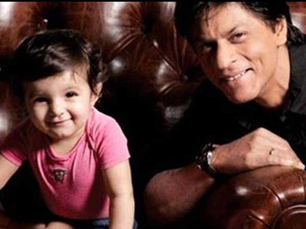 Shah Rukh Khan happy to show off son AbRam's stardom
