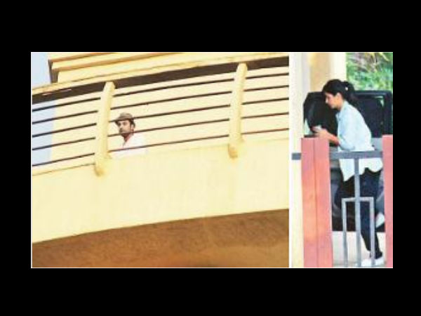 SPOTTED: Ranbir-Katrina Together At Their New House