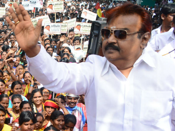 Vijay Kanth to do a guest role in his Son's Movie