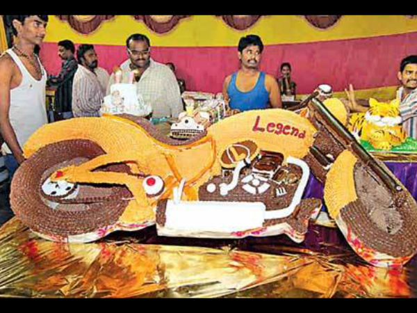 LEGEND 100 KG Bike Cake