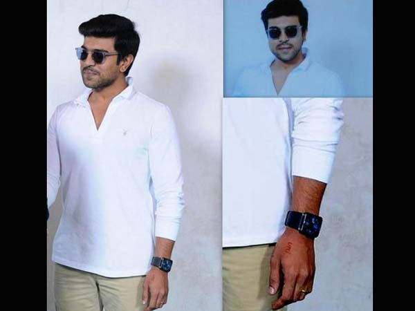 Upasna's Name Inked On Ram Charan's Hand