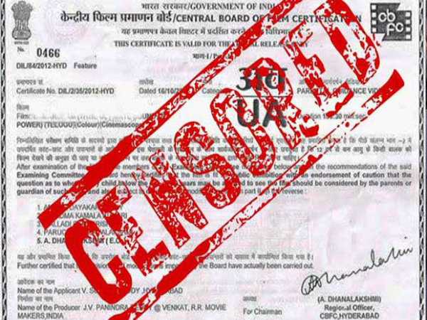 Censor board doesn't want films to use these cuss words
