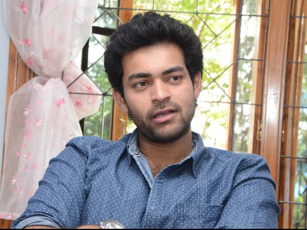 Varun Tej next on 27th this month