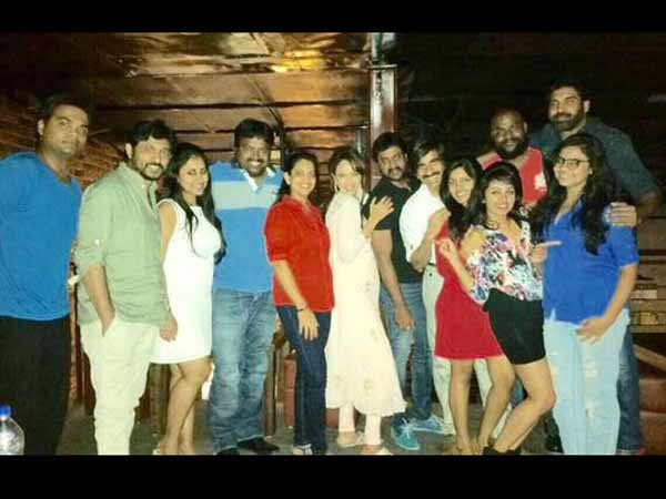 Celebs at Sunil's Birthday Party!
