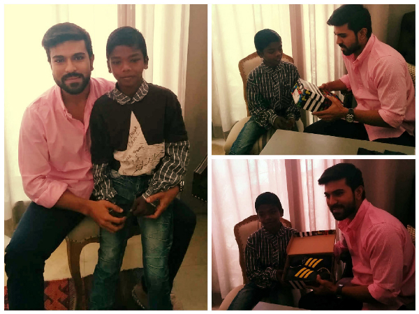 Ram Charan Extends His Charity For Child Health Care