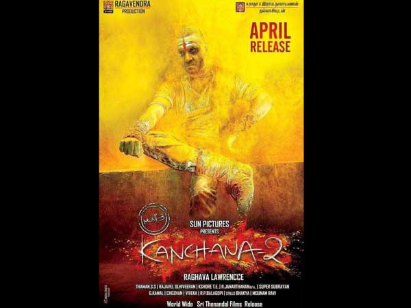 Lawrence's Kanchana 2 First Look Poster