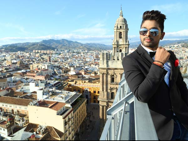 Allu Arjun's Son of Satyamurthy theatrical Trailer