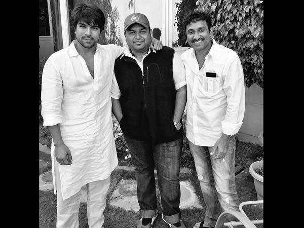 Thaman to replace Anirudh for Ram Charan's film