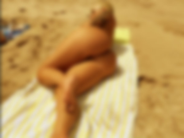 Amber Rose Goes Nearly Naked On Maui Beach
