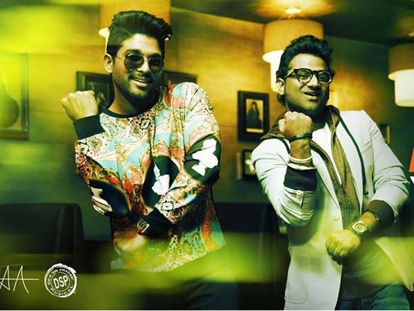 Allu Arjun's Latest Film S/o Satyamurthy Promotional Song Full Video.