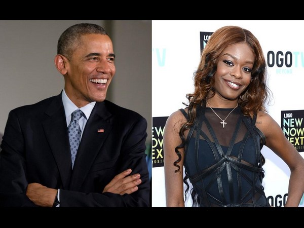 American singer's desire to sleep with Obama a joke