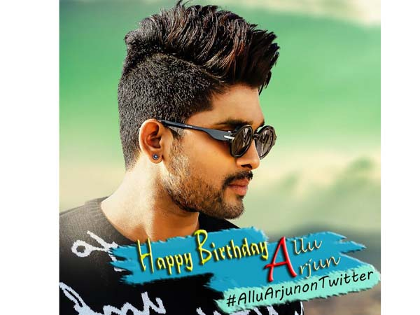 Allu Arjun finally came in to Twitter