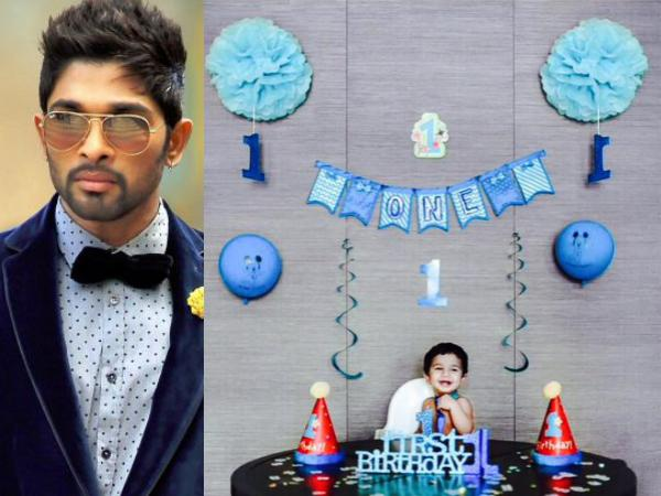 Allu Ayaan's 1st Birthday in Grand Style!