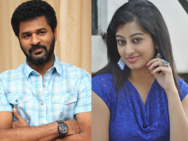 Romour: relation between Prabhu deva and tejaswni