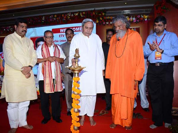Odisha CM Naveen Patnaik launches 24x7 'ETV News Odia' Channel