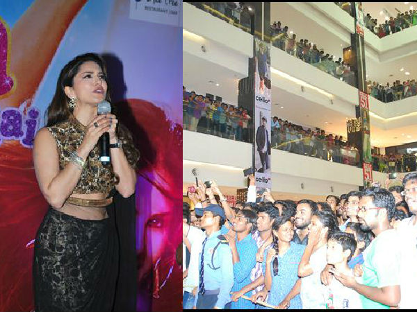 Sunny Leone on madness of Hyd fans