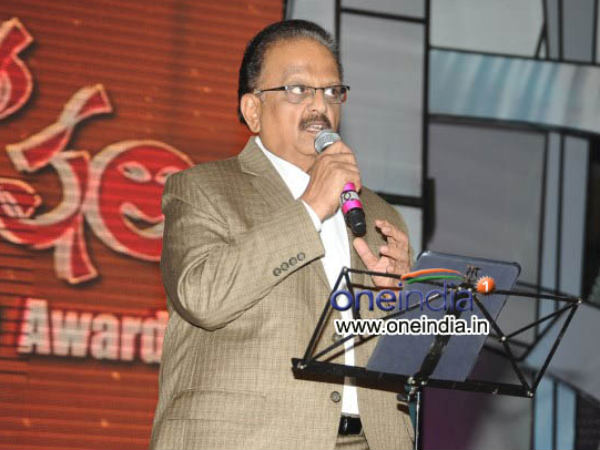 SP.Balasubrahmanyam to get life time award