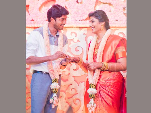 Allari Naresh wedding invitation