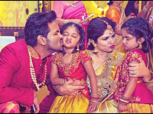 Manchu Vishnu Family Cutest Pic