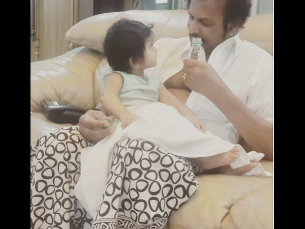 Mohan Babu, the Baby sitter