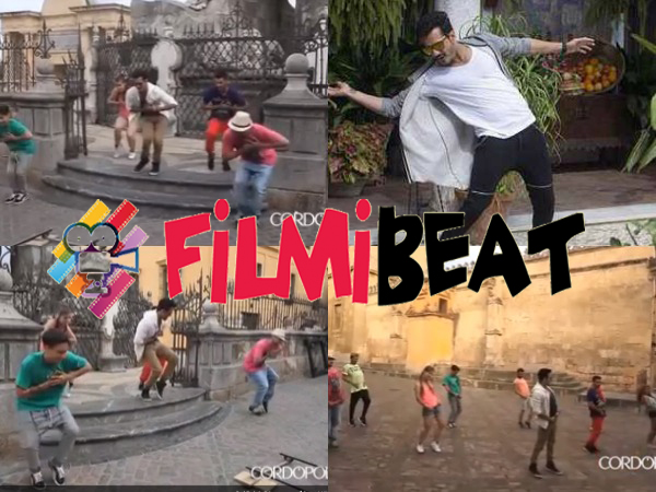 LEAKED: Akhil Akkineni Dancing Video Going Viral