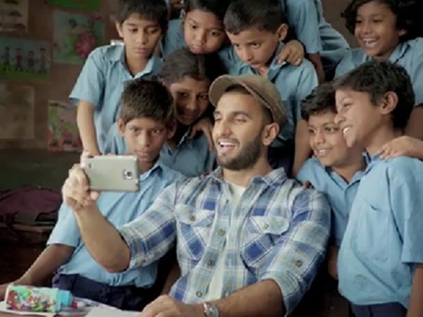 Ranveer Singh at his adorable best in this ad campaign for hungry children