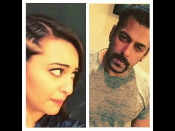 Salman Khan Makes his Dubsmash Debut with Sonakshi Sinha in Shotgun Style