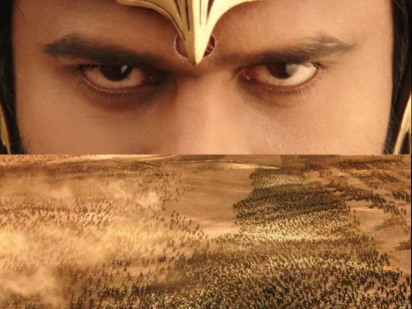 Baahubali Teaser released