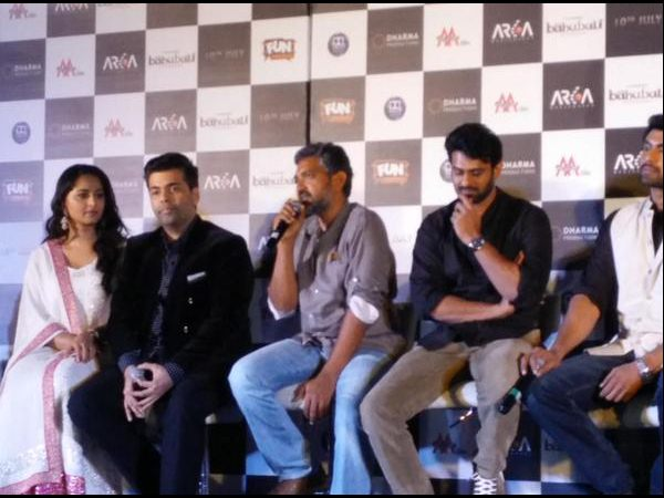 Why Karan Johar got irritated at Baahubali launch?