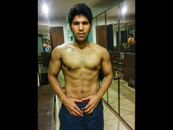 Allu Sirish's next launched in style