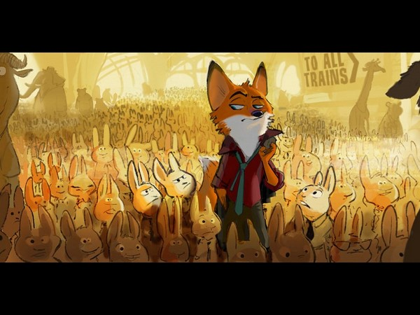 Disney's 'Zootopia' Trailer Introduces Animal-Run World