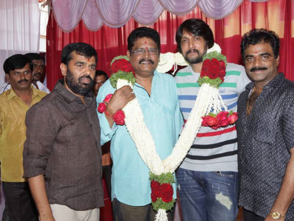 K.S Ravi Kumar's next with Sudeep