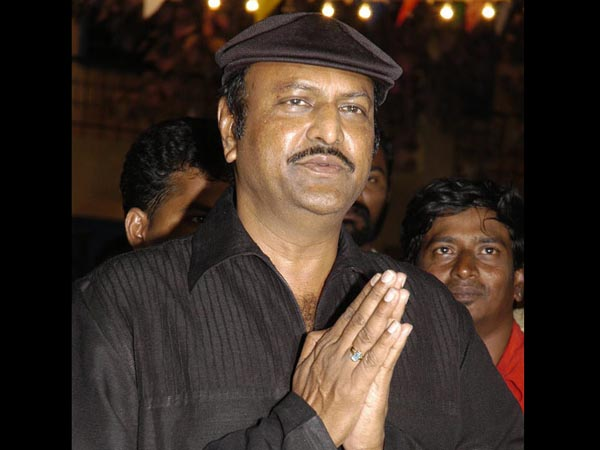 Rajinikanth behind the Pedarayudu film: Mohan Babu