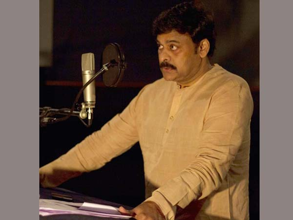 Chiranjeevi's audio posted by Ramcharan