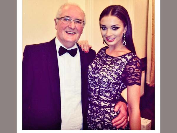Amy Jackson's Father suffers Heart Attack