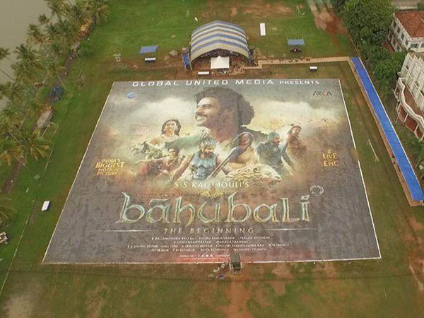 'Baahubali' poster to get the Guinness Book of World Records