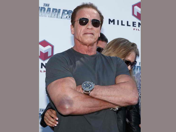 Nude scenes are embarrassing: Arnold Schwarzenegger